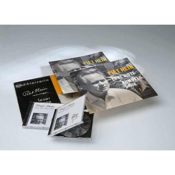 CD: Piet Hein reads his poems and grooks (danish language)