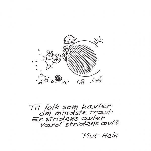 TIL FOLK SOM KÆVLER, wallsticker