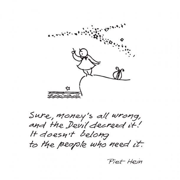 SURE, MONEY'S ALL WRONG, wallsticker
