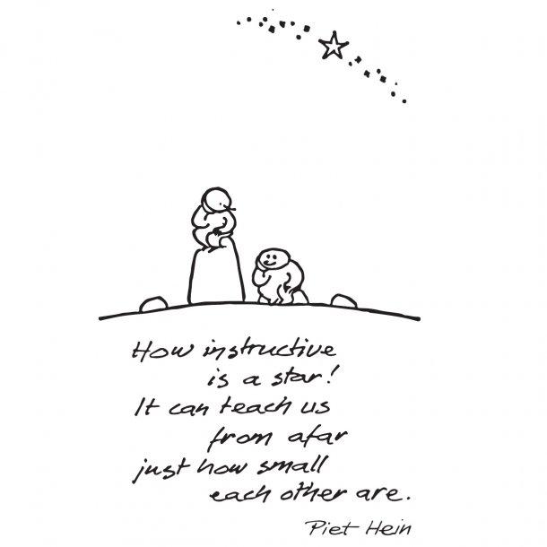 HOW INSTRUCTIVE IS A STAR!, wallsticker
