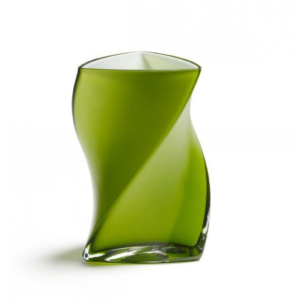 LIME 16 cm TWISTER vase - PIET HEIN