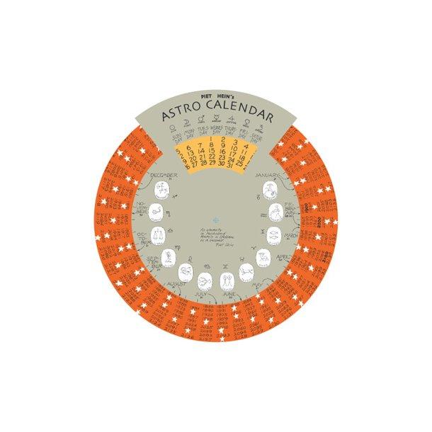 PIET HEIN: Astro-Calendar, spans from year 1850 to 2150