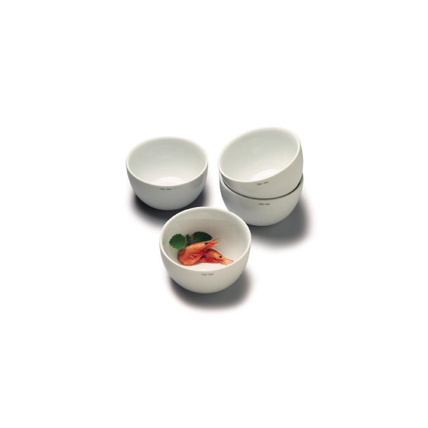 14 cm. Bowl Porcelain WHITE - Piet hein