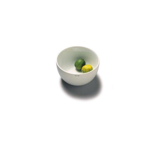 Skål i porcelæn 18 cm - HVID
