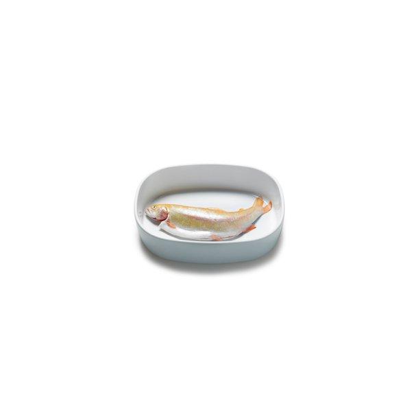 23x30x7 cm. Dish Porcelain - HIGH/WHITE - piet hein