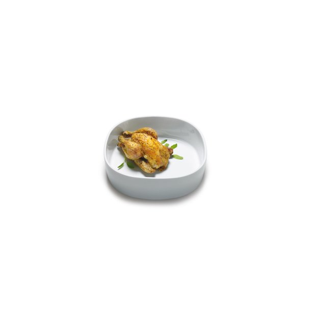 Super Circular Dish 26x26x7 cm. Porcelain - HIGH/WHITE - piet hein