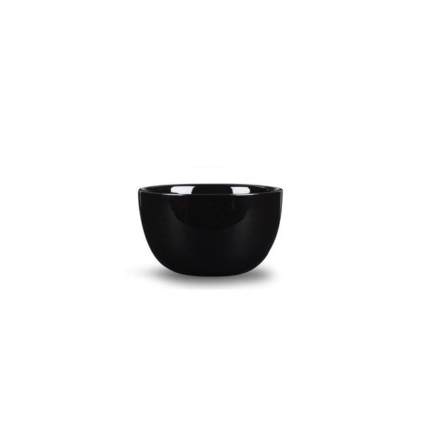 21 cm. Bowl Porcelain - BLACK - piet hein