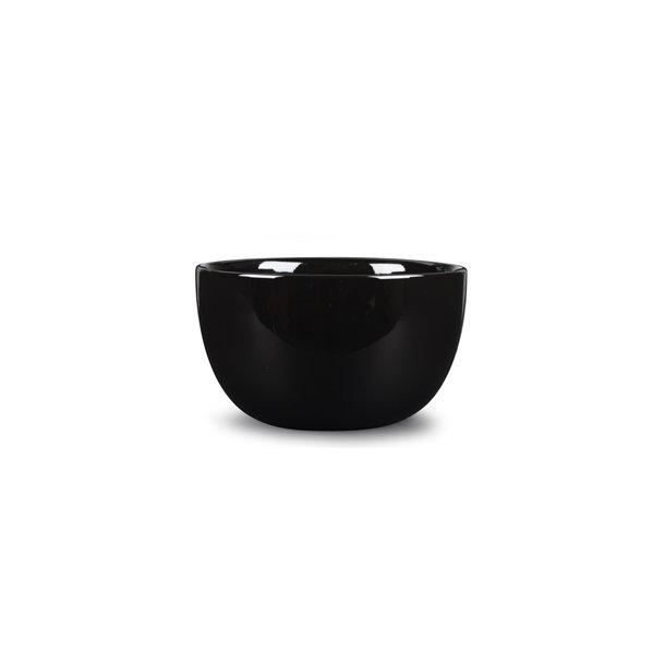 Skål i porcelæn 26 cm - SORT