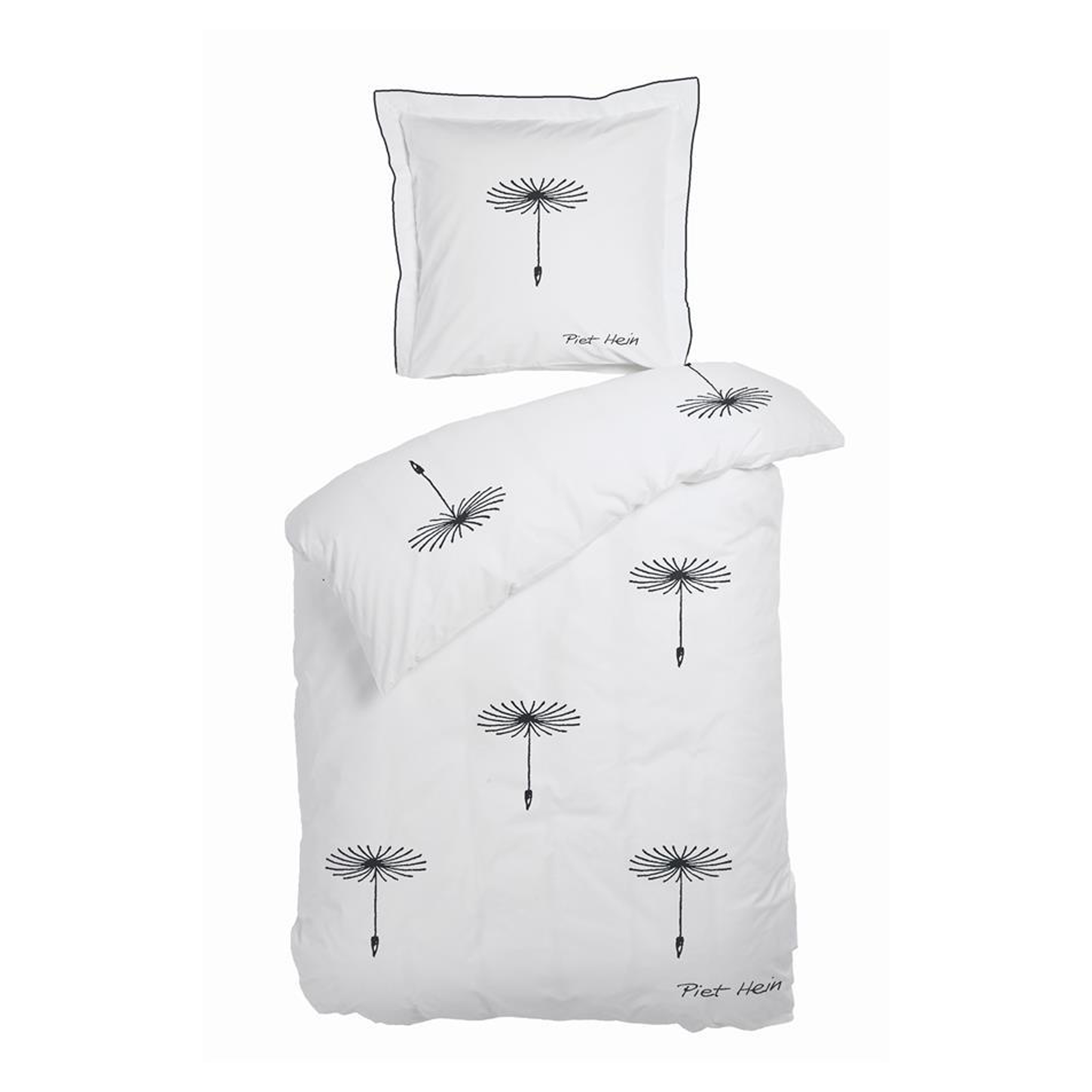 Picture of: Bed Linnen Dandelion Seed 140×200 63×60 Cm White Textiles Piet Hein Trading Aps