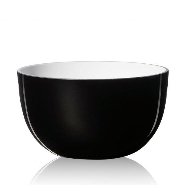SUPER-Bowl glass - Black/Opal